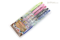 Zebra Limited Edition Sarasa Clip Sweets Party Scented Gel Ink Pen - 0.5 mm - 5 Color Set A - ZEBRA JJ29-S-5CA