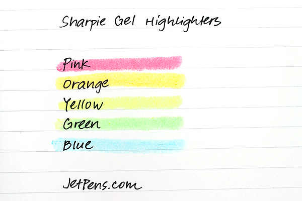 Sharpie Gel Highlighter - Green - SHARPIE 1809549