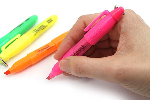 Sharpie Mini Highlighter - 4 Color Set - SHARPIE 20374