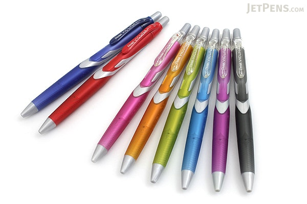 Pentel Vicuna Ballpoint Pen - 0.5 mm - Yellow Green Body - Black Ink - PENTEL BX155K-A