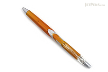 Pentel Vicuna Ballpoint Pen - 0.5 mm - Orange Body - Black Ink - PENTEL BX155F-A