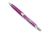 Pentel Vicuna Ballpoint Pen - 0.5 mm - Purple Body - Black Ink - PENTEL BX155V-A