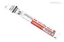 Pentel Vicuna Ballpoint Pen Refill - 0.5 mm - Red - PENTEL XBXM5H-B