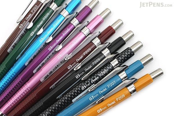 Pentel Sharp Drafting Pencil - 0.5 mm - Metallic Pink Body - PENTEL P205M-PX