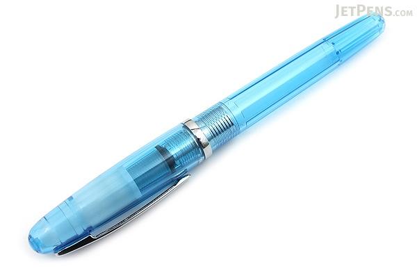 Platinum Balance Fountain Pen - Crystal Blue - Fine Nib - PLATINUM PGB-3000A 58-F
