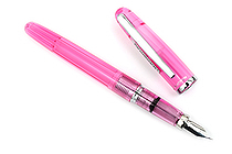 Platinum Balance Fountain Pen - Fine Nib - Crystal Rose - PLATINUM PGB-3000A 74-F