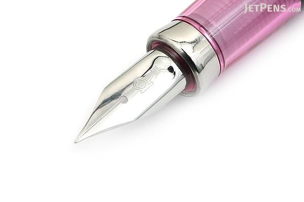 Platinum Balance Fountain Pen - Crystal Rose - Fine Nib - PLATINUM PGB-3000A 74-F
