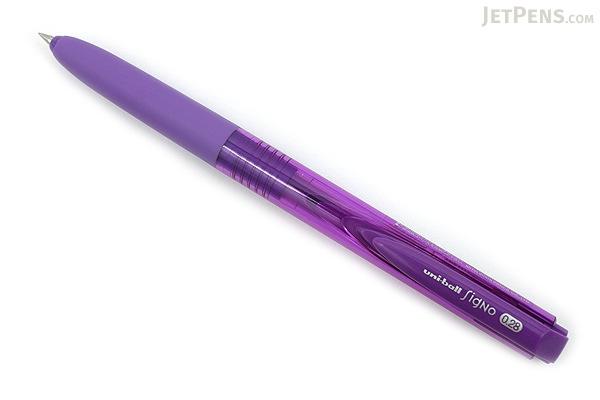 Uni-ball Signo RT1 UMN-155 Gel Pen - 0.28 mm - Violet - UNI UMN15528 .12