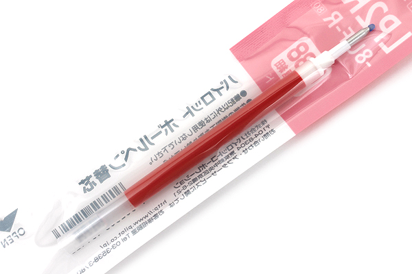 Pilot LP2RF Gel Pen Refill - 0.38 mm - Red - PILOT LP2RF-8UF-R