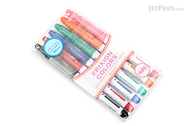 Pilot FriXion Colors Erasable Marker - 6 Color Set 3 - PILOT SFC-60M-6C3