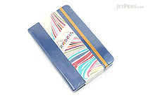 "Rhodia Rhodiarama Webnotebook - 3.5"" x 5.5"" - Lined - Sapphire - RHODIA 118648"