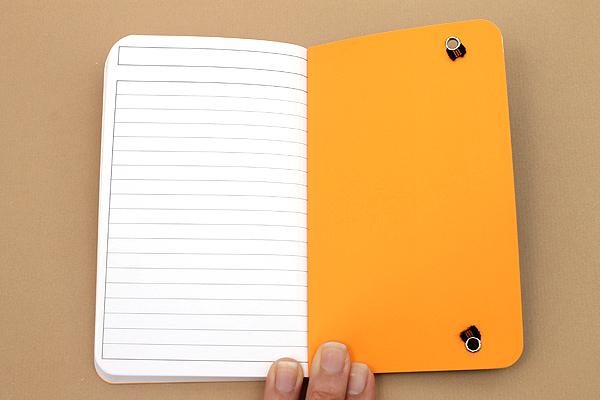 "Rhodia Unlimited Notebook - 3.5"" x 5.5"" - Lined - Black - Bundle of 5 - RHODIA 118059B BUNDLE"