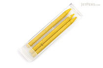 Kaweco Lead Holder Refill - 5.6 mm - Yellow - Pack of 3 - KAWECO 10000383