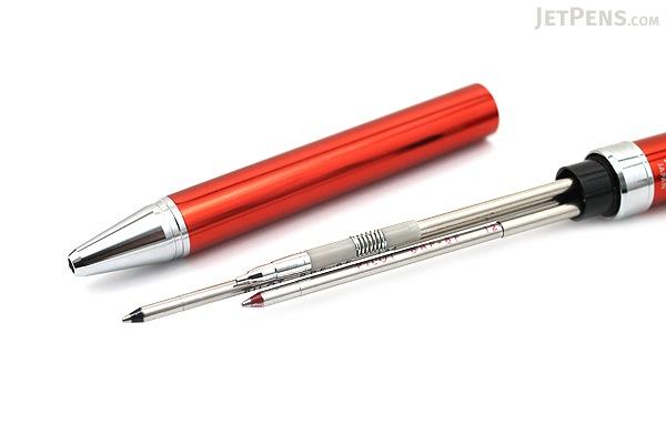 Pilot 2+1 Evolt 2 Color 0.7 mm Ballpoint Multi Pen + 0.5 mm Pencil - Red - PILOT BTHE-1SR-R