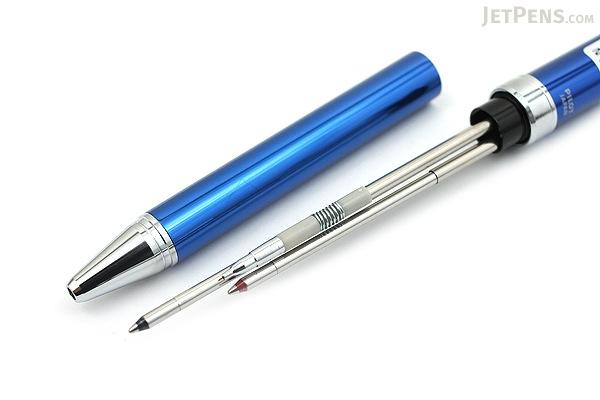 Pilot 2+1 Evolt 2 Color 0.7 mm Ballpoint Multi Pen + 0.5 mm Pencil - Blue - PILOT BTHE-1SR-L