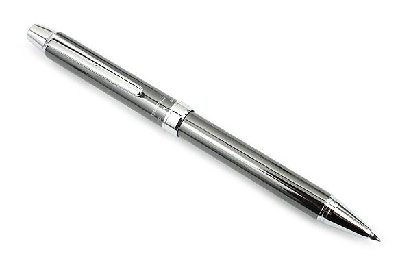 Pilot 2+1 Evolt 2 Color 0.7 mm Ballpoint Multi Pen + 0.5 mm Pencil - Gray - PILOT BTHE-1SR-GY