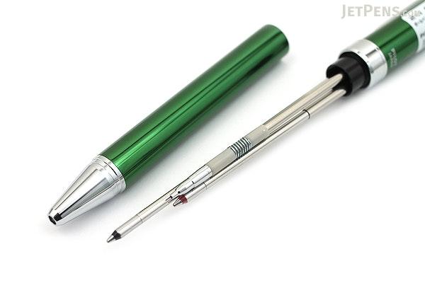 Pilot 2+1 Evolt 2 Color 0.7 mm Ballpoint Multi Pen + 0.5 mm Pencil - Green - PILOT BTHE-1SR-G