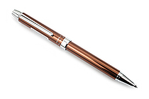Pilot 2+1 Evolt 2 Color 0.7 mm Ballpoint Multi Pen + 0.5 mm Pencil - Brown - PILOT BTHE-1SR-BN
