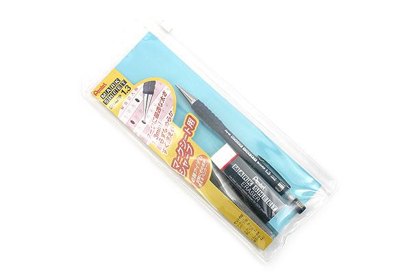 Pentel Mark Sheet Set for OCR - 1.3 mm Mechanical Pencil + Eraser + Lead - PENTEL AM13STHB