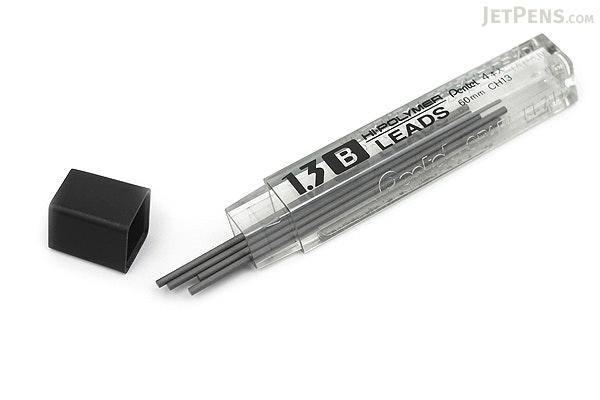 Pentel Hi-Polymer Pencil Lead - 1.3 mm - B - PENTEL CH13-B