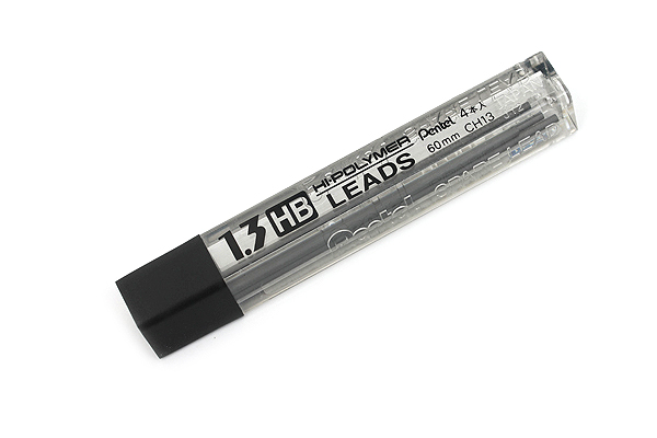 Pentel Hi-Polymer Pencil Lead - 1.3 mm - HB - PENTEL CH13-HB