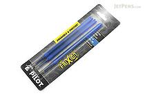 Pilot FriXion US Gel Pen Refill - 0.5 mm - Blue - Pack of 3 - PILOT FXPR3BLU