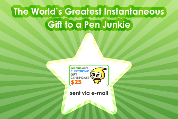 JetPens Electronic Gift Certificate - GIFT25