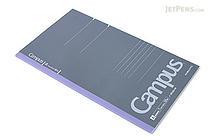 Kokuyo Campus Notebook - Slim B5 - 7 mm Rule - Blue Gray - KOKUYO NO-3PAN-M