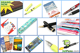 New Products: Uni Hi-Uni Wooden Pencils, Limited Edition Field Notes - America the Beautiful, Limited Edition Zebra Prefill 4 Color Multi Pen Body Components, and more!