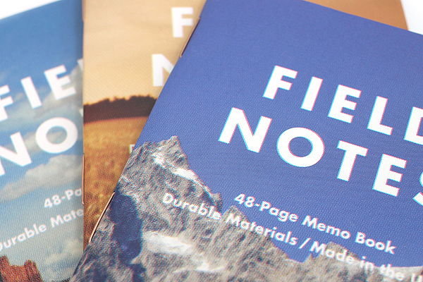 "Field Notes Color Cover Memo Book - America the Beautiful Limited Edition - 3.5"" X 5.5"" - 48 Pages - 6.5 mm Rule - Pack of 3 - FIELD NOTES FNC-18"