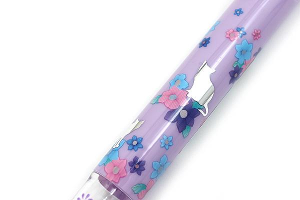 Zebra Prefill 4 Color Multi Pen Body Component - Limited Edition Animal - Purple Cat - ZEBRA S4A11-Q11