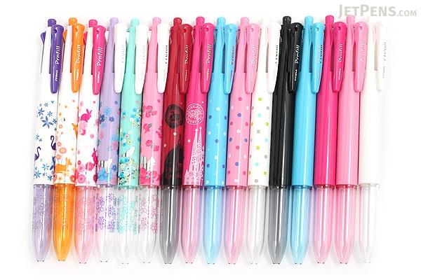 Zebra Prefill 4 Color Multi Pen Body Component - Limited Edition Animal - Pink Rabbit - ZEBRA S4A11-Q15