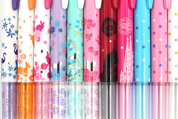 Zebra Prefill 4 Color Multi Pen Body Component - Limited Edition - Dot Pink - ZEBRA S4A11-DTP