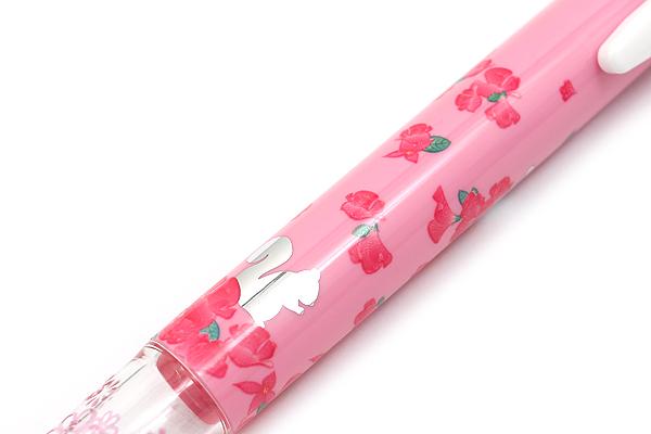 Zebra Prefill 4 Color Multi Pen Body Component - Limited Edition Animal - Pink Chipmunk - ZEBRA S4A11-Q12