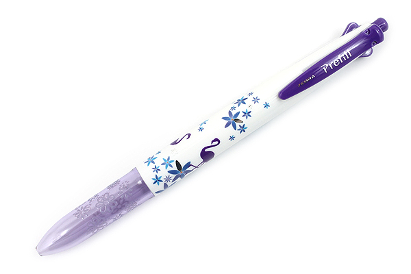 Zebra Prefill 4 Color Multi Pen Body Component - Limited Edition Animal - Purple Flamingo - ZEBRA S4A11-Q14