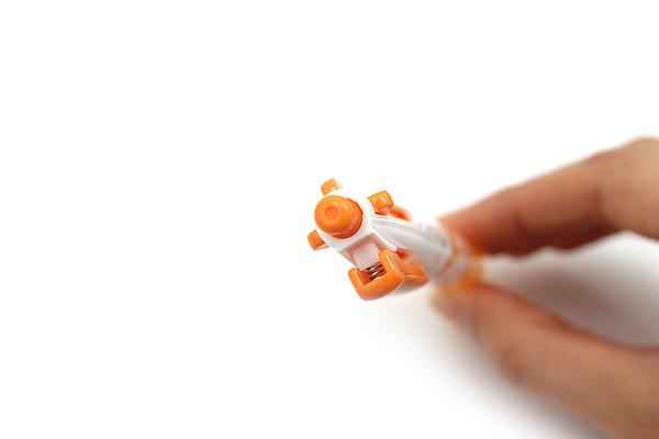 Zebra Prefill 4 Color Multi Pen Body Component - Limited Edition Animal - Orange Bambi - ZEBRA S4A11-Q16