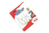 Pentel Hi-Polymer Eraser Caps - Pack of 10 - PENTEL ZEH02BP10