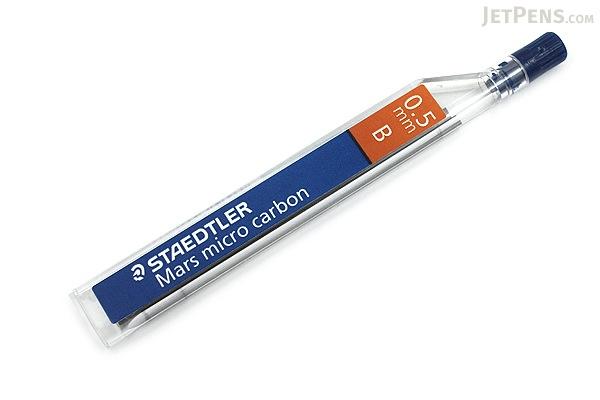 Staedtler Mars Micro Carbon Pencil Lead - 0.5 mm - B - STAEDTLER 250 05-B