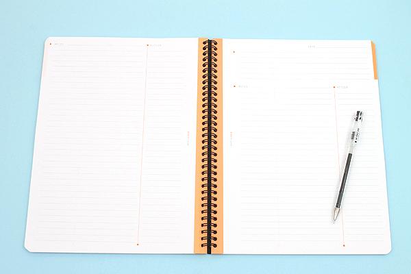 "Rhodia Meeting Book 90 - A4+ (9"" x 11.75"") - Lined - Black - RHODIA 119940"