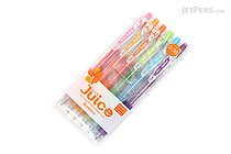 Pilot Juice Gel Pen - 0.38 mm - 6 Color Set - PILOT LJU-60UF-6C