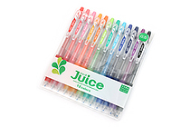 Pilot Juice Gel Pen - 0.5 mm - 12 Color Set - PILOT LJU-120EF-12C