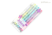 Pilot Juice Gel Pen - 0.5 mm - 6 Color Set - Pastel - PILOT LJU-60EF-6CP