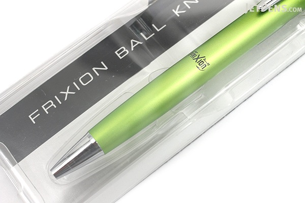 Pilot FriXion Ball Knock Biz Gel Pen - 0.5 mm - Light Green Body - PILOT LFBK-2SEF-LG
