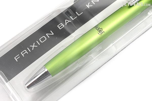 Pilot FriXion Ball Knock Biz Gel Pen - 0.5 mm - Light Green Body - PILOT LFBK-2SEF-LG