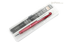 Pilot FriXion Ball Knock Biz Gel Pen - 0.5 mm - Bordeaux Body - PILOT LFBK-2SEF-BO