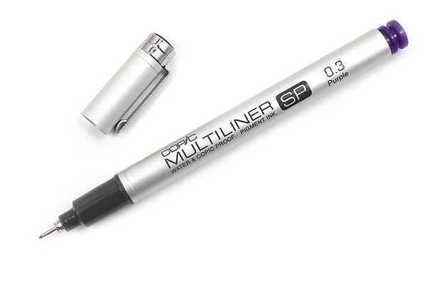 Copic Multiliner SP Pen - 0.3 mm - Purple - COPIC MLSPP03
