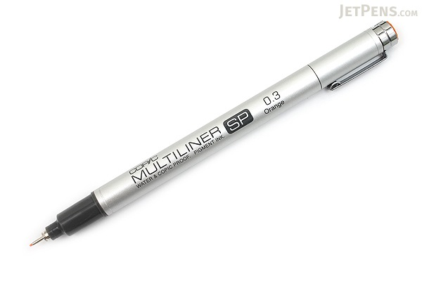 Copic Multiliner SP Pen - 0.3 mm - Orange - COPIC MLSPOR03