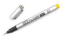 Copic Multiliner SP Pen - 0.3 mm - Yellow - COPIC MLSPY03
