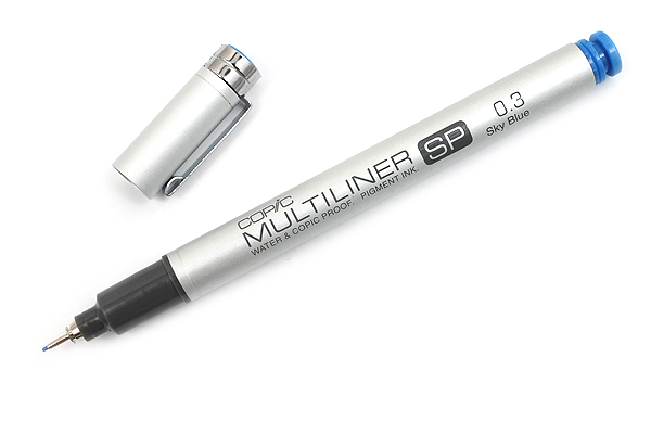 Copic Multiliner SP Pen - 0.3 mm - Sky Blue - COPIC MLSPB03
