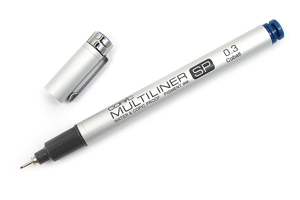 Copic Multiliner SP Pen - 0.3 mm - Cobalt - COPIC MLSPC03